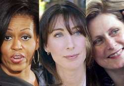 wives speak about obama cameron brown