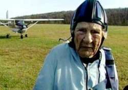 you re never too old 95 year old grandma skydives