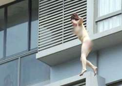 chinese woman jumps naked from 11th floor survives on air