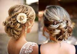 wedding hairstyle try romantic side bun this time view pics
