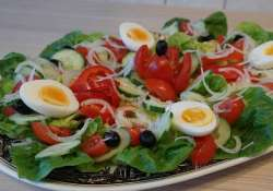 top salads with eggs to better absorb vegetable nutrition