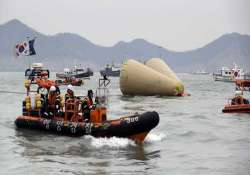 all 15 crew members of ill fated south korean ferry held