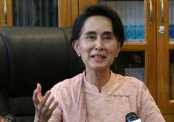 suu kyi hopes high level meeting leads to fair elections