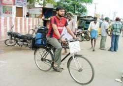 indian cyclist reaches qatar on 200 000 km trip