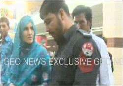 pak geo news telecasts policeman manhandling woman in lahore