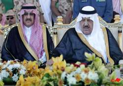 saudi king in mecca for crown prince s burial