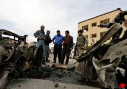 suicide bombers attack afghan governor 22 dead