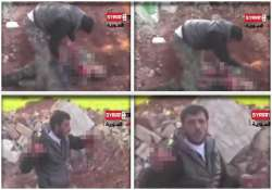 syrian rebel eats soldier s heart
