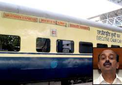 bjp leader stops shatabdi express to get down probe ordered