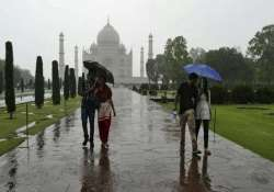 heavy downpour disrupts life in agra