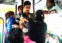 haryana sisters take on molesters in bus three arrested