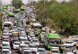 traffic advisory issued for aam aadmi party s swearing in