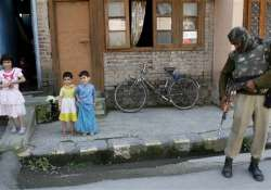 curfew lifted in five districts
