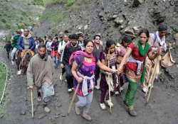 smallest batch of 303 pilgrims leaves for amarnath