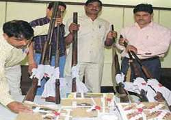 mp border districts supplying weapons to delhi ncr gangs