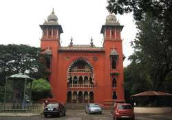madras hc dispenses with personal appearance of tamil daily