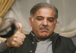 shahbaz sharif accorded warm welcome in his native village