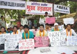 students hunger strike enters 5th day 5 serious
