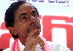 trs chief meets pm demands early telangana statehood