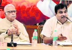 bjp top brass to meet sparks may fly