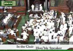 bjp mps stage demo in parliament over dhaula kuan gangrape