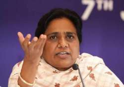 mayawati seeks resignation of shivraj chouhan slams