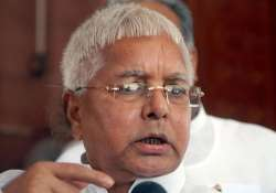 when lalu prasad yadav played proxy for minister sons