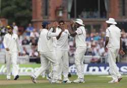 india show glimpses of fight back as england go to lunch