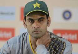world cup 2015 mohammad hafeez ruled out due to ankle injury