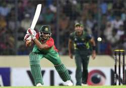 ban vs pak bangladesh crushes pakistan by 7 wickets in only
