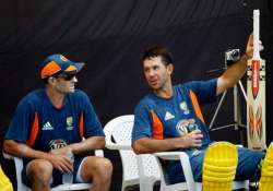 ponting asks teammates to play with aggression