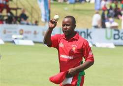 utseya s magical hat trick help zimbabwe bowl out south