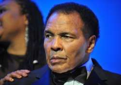 muhammad ali the legendry boxer is fine say daughters