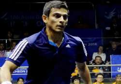 asian games ghosal shocked settles for maiden asiad squash