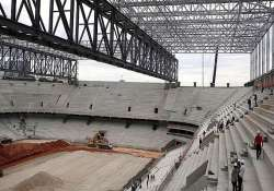 brazil s world cup stadium in new setback.