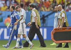 fifa world cup argentina winger di maria in doubt for