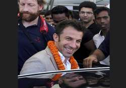 juventus is part of life now want to explore india del piero