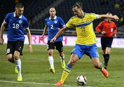 euro 2016 austria sweden draw 1 1 in qualifier