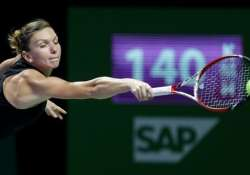halep parts ways with coach after less than a year