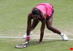 serena knocked out by zvonareva