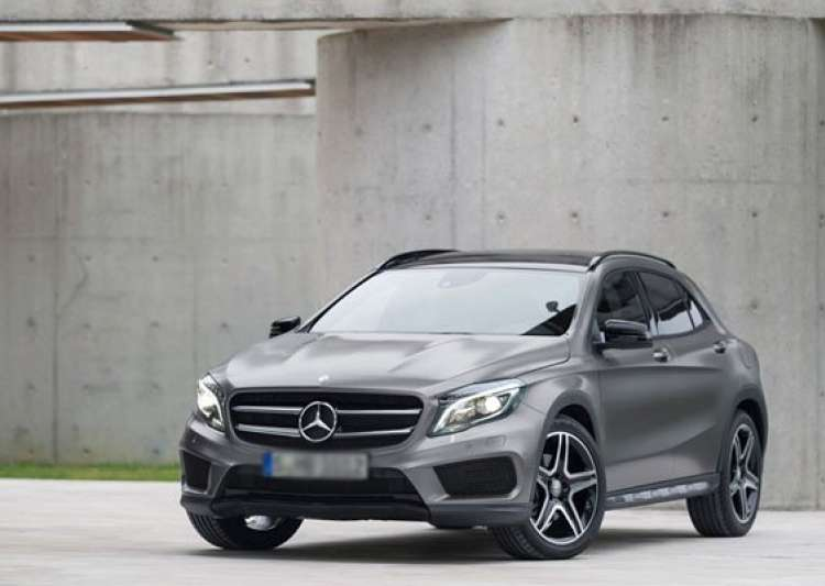 Mercedes gla class suv launched at rs lakh for Mercedes benz gla india