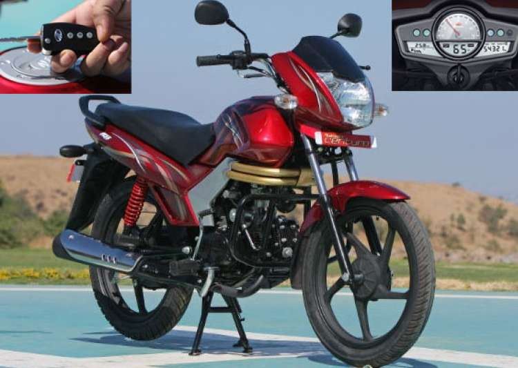 top 10 features of mahindra s 110 cc motorcycle centuro- India Tv