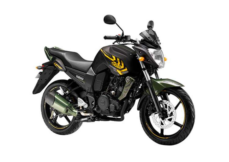 yamaha fazer and fz s get new battle green paint job- India Tv
