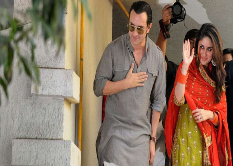 bollywood stars glitter at saif kareena wedding reception- India Tv