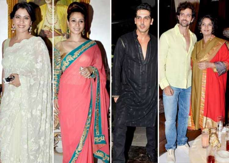 hrithik suzanne kajol attend zarine khan s iftar bash view- India Tv