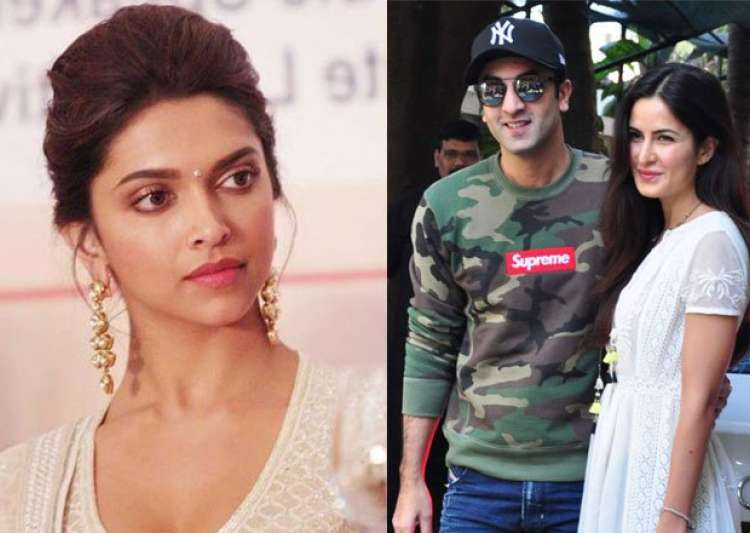 Finally! Deepika Padukone reacts to Ranbir Kapoor-Katrina ... Deepika Padukone And Ranbir Kapoor Break Up