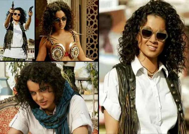 queen kangana ranaut turns lady dabangg in revolver rani- India Tv