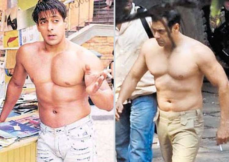 salman goes topless in ek tha tiger- India Tv