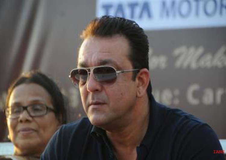 sanjay dutt meets cancer patients donates mammography scanner ambulance view pics- India Tv
