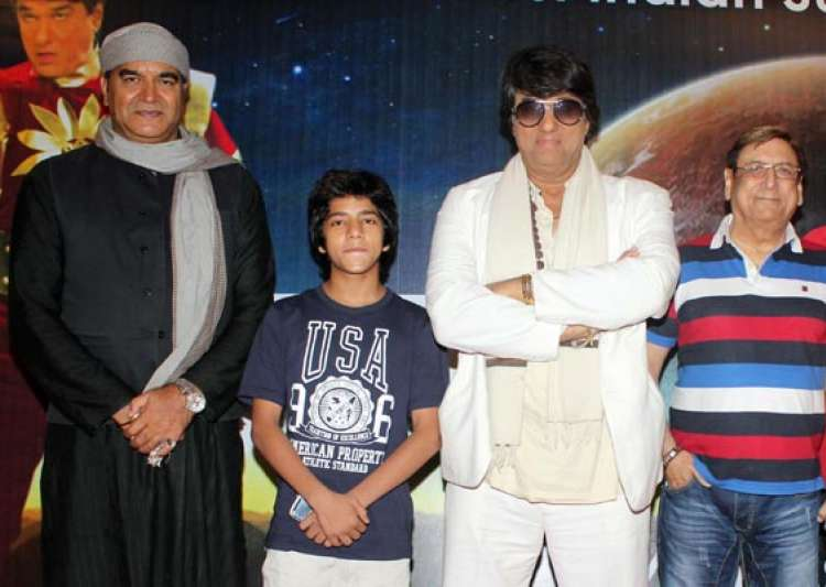 shaktimaan introduces junior shaktimaan in a tele film view- India Tv